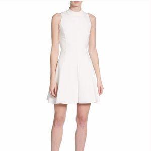 Theyskens' Theory Fassica sleeveless crepe dress